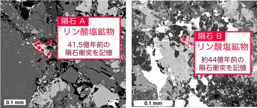 40億年前より古い大量隕石衝突の痕跡を発見 -小惑星の岩石の年代測定から検証-