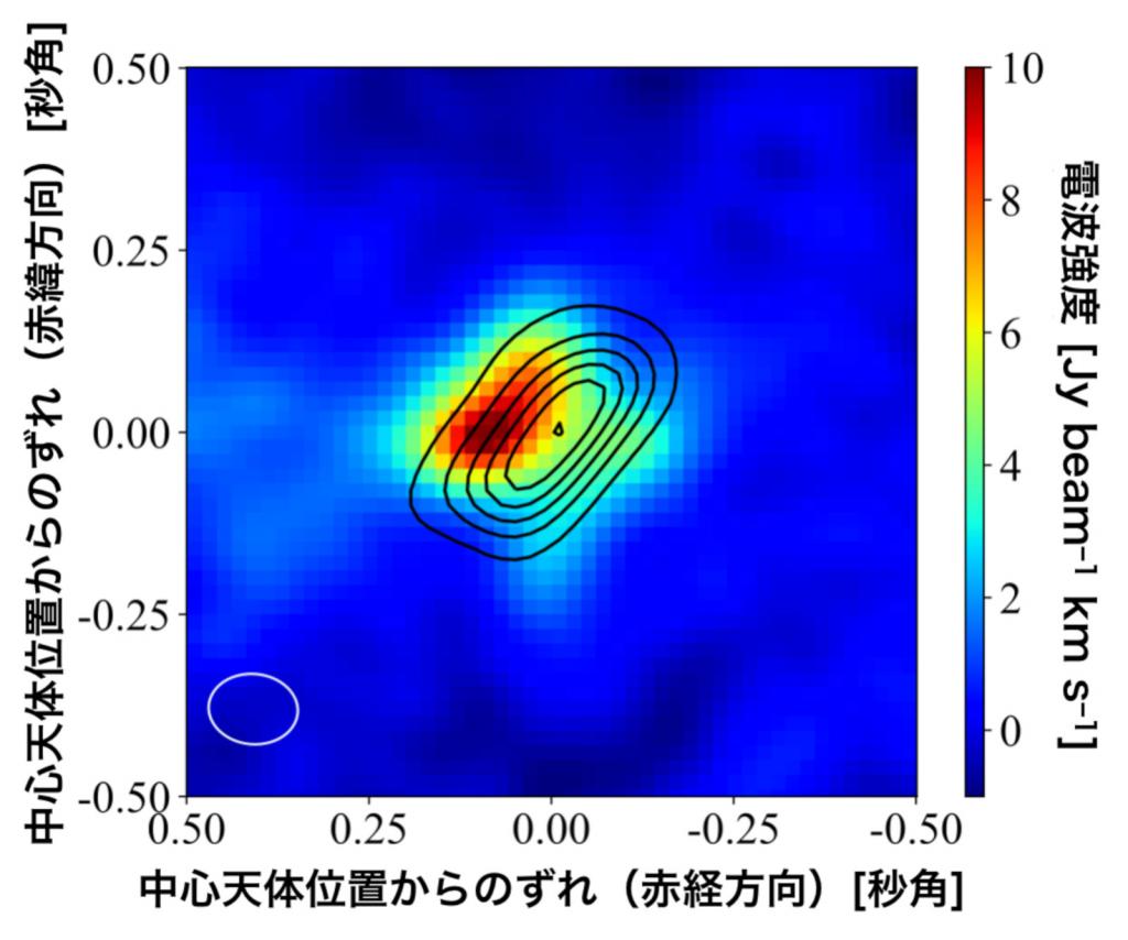 巨大原始星の周りにアルミニウムを含む分子を発見—惑星材料の起源の理解へ