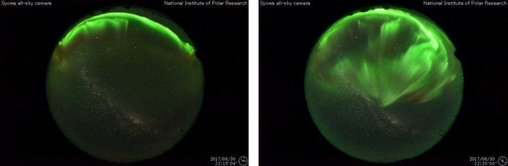 オーロラが爆発するとヴァン・アレン帯の電子が上空65kmにまで侵入する