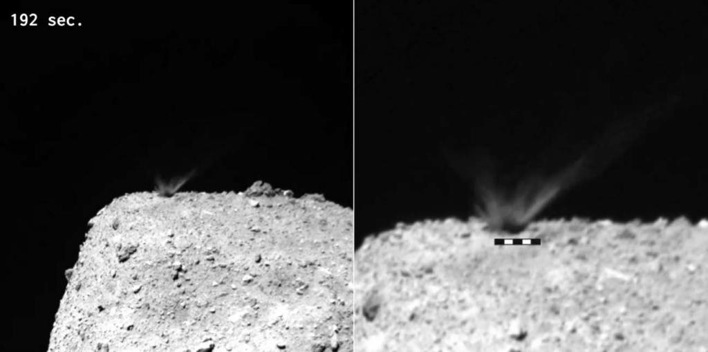 小惑星リュウグウでの人工クレーター形成実験から分かったこと